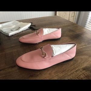 Gucci Shoes - New Gucci Brixton Pink Loafer